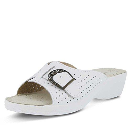 Edella White Leather Edella Flexus White Flexus HO4wZqOT