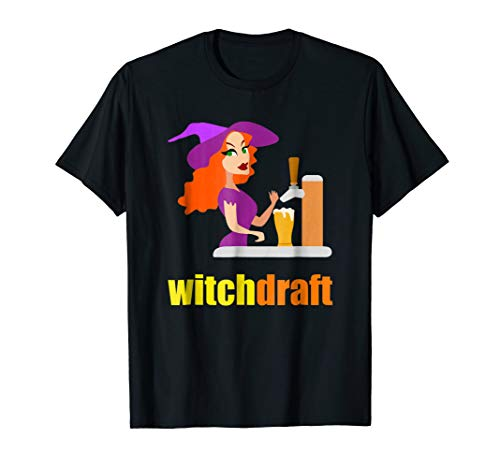 HALLOWEEN BEER BARTENDER FUNNY SHIRT COSTUME WITCH DRAFT for $<!--$19.99-->