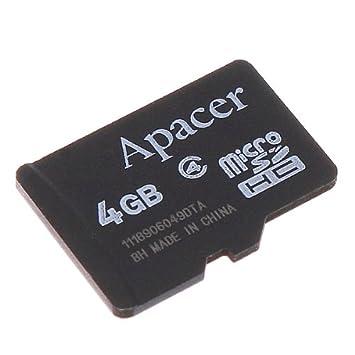 Amazon.com: Kingzer apacer 4 GB tarjeta micro SD 4 G TF ...