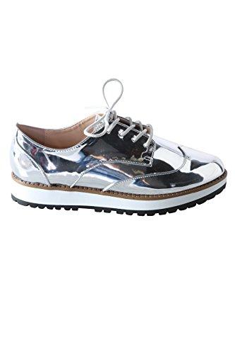 Hadari Womens Oxford Métallique Sneaker