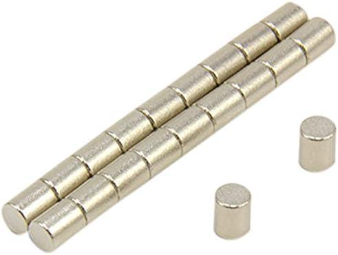 dia thick First4magnets F0405SC-20 4mm Durchmesser x 5mm dicker Samarium-Kobalt-Magnet-0,44kg Anziehungskraft 2 St-Packung 20 St/ück