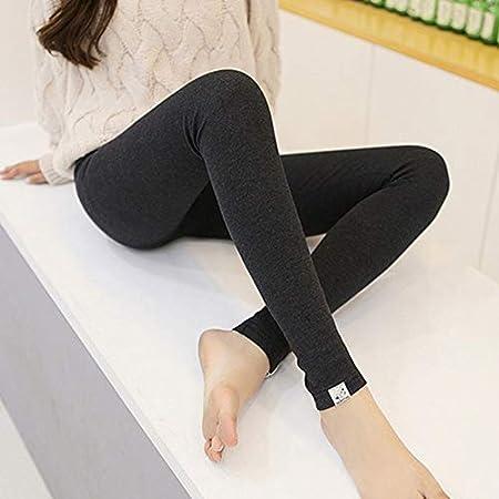 Candybush Pantalones Largos de Mujer elástica Alta Medias de Mujer Embarazada de Moda Pantalones de Fitness Pequeños Gatos Etiquetas Pantalones Delgados: ...