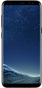Samsung Galaxy S8 Plus 64GB - Verizon + GSM Factory Unlocked 4G LTE - Midnight Black (Certified Refurbished)