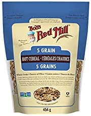 BOB'S RED MILL Bob's Red Mill 5 Grain Rolled Hot Cereal, 454 Gram