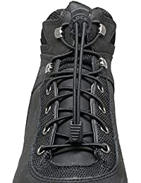 68faebabb190 for Boots (1 Pair) Premium Heavy Duty Elastic No Tie Boot Laces for Boots