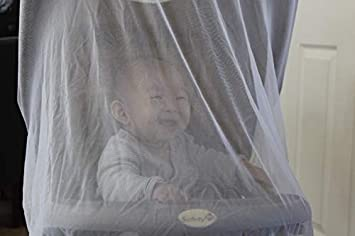 2 Pack Portable /& Durable |Baby Insect Netting Fits Most PacknPlays,Cribs,Bassinets /& PlaypensWhite Radley Baby Mosquito Net for Strollers,Carriers,Car Seats/&Cradles