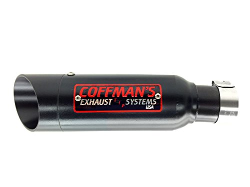 Coffmans Shorty Exhaust For Honda Cmx 500 300 Rebel 2017 Sportbike With Black Tip