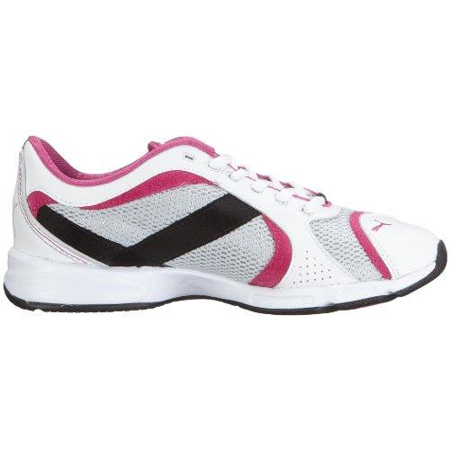 PumaLutea - Zapatillas de Entrenamiento Mujer Blanco - Weiss (White-Puma Silver-Very Berry)