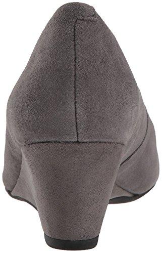 Grey Women's Clarks Tulip Flores Suede Pumps HzySZ7q