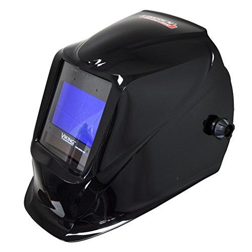 (Lincoln Electric Viking 2450D Black Digital Series Welding Helmet - K3230-2)