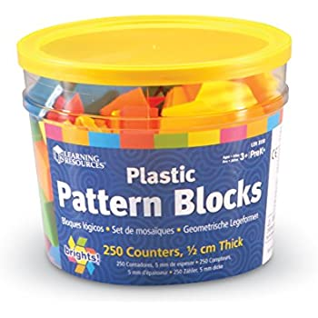 Amazon.com : Pattern Block Activity Pack : Office Products
