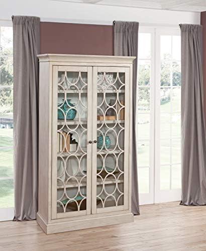 Martin Furniture Felicity Glass Door Bookcase