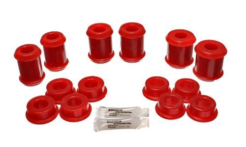 Energy Suspension 3.3177R Rear Control Arm Bushing Set for Corvette by Energy Suspension