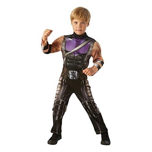Hawkeye - Marvel Avengers - Costume de fantaisie pour enfants - Large - 128cm - Age 7-8
