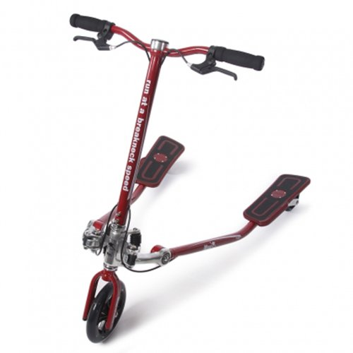 Skimotion fitness 3 wheel fitness scooter red b00anv961k for 3 wheel motor scooters for adults