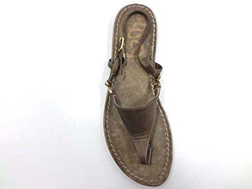 Zapatos Mujer EDDY DANIELE 37 EU Sandalias Marrón Cuero AW373
