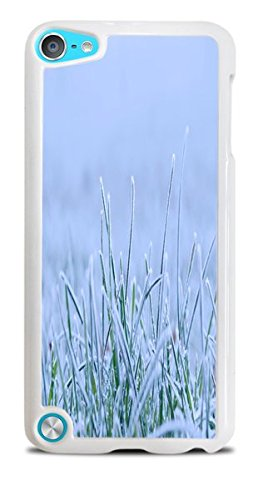 Hardshell Frosted Case - Frosted Grass White Hardshell Case for iPod Touch 5G