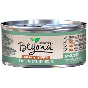 Beyond Dry Cat Purina Grain Free Trout and Catfish Recipe Can, 3 oz