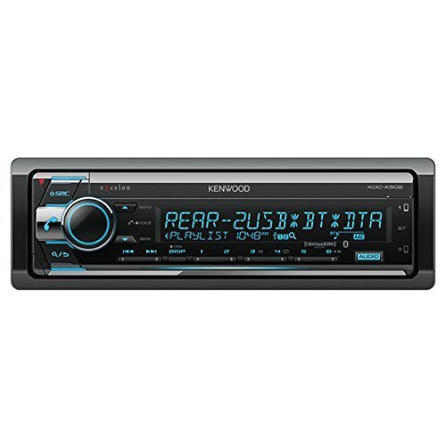 Kenwood eXcelon KDC-X502 CD Receiver with Bluetooth