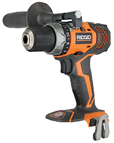 Ridgid Fuego R86008 18V Lithium Ion 1650 RPM Cordless Compact 2 Speed Drill / Driver with LED Grip Light and Keyless Chuck (Battery Not Included, Power Tool Only) (Set Power Tool Ridgid Cordless)