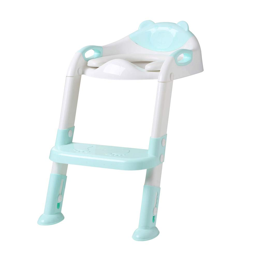 SMALLE ◕‿◕ Training Chair for Babies, Potty Toilet Trainer Seat with Step Stool Ladder Adjustable Baby Potty Toilet Seat