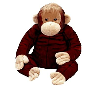 91162e50e59 Amazon.com  Ty Beanie Buddy - Jumbo Schweetheart the Orangutan  Toys   Games