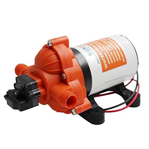Homyl 12v 小型ポンプ ダイヤフラム ウォーターポンプ ダイヤフラムポンプ