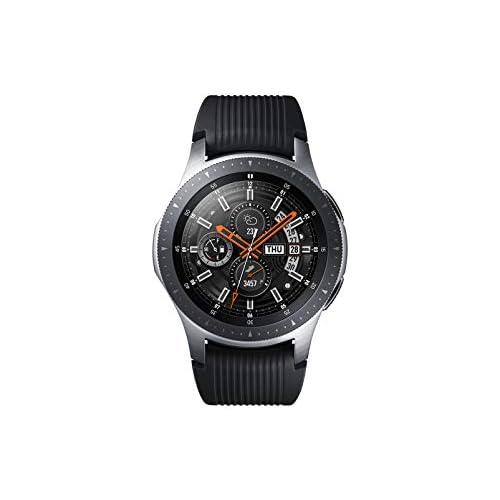 chollos oferta descuentos barato Samsung Galaxy Watch SM R800 Reloj inteligente con SAMOLED GPS Pantalla táctil Plata 46 mm