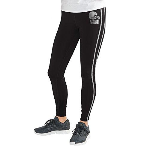GIII For Her NFL Damen Warm Up Leggings, Damen, Warm Up Legging, schwarz, XX-Large