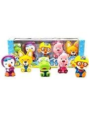 PORORO Bath Toys Bath Toys 5pcs