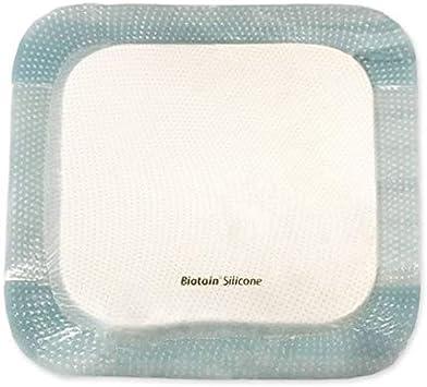 Biatain - Apósito adhesivo de espuma de silicona (7,5 x 7,5 cm, 1 unidad): Amazon.es: Salud y cuidado personal