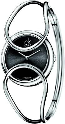 Calvin Klein ck Inclined Bangle Ladies Watch K4C2S111