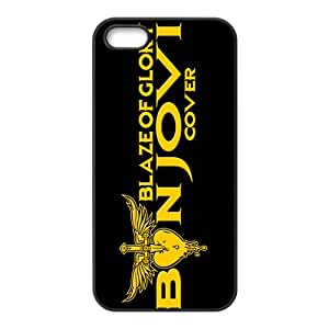ZXCV Golden Blaze of Glory Cell Phone Case for Iphone 5s