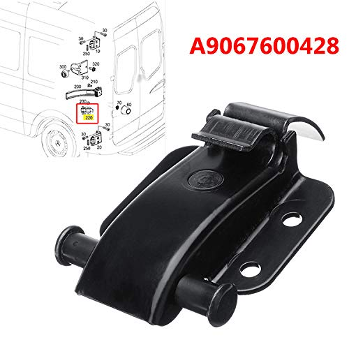 REAR DOOR HINGE CHECK STRAP BRACKET 9067600428; FairOnly Convenient Life FOR MERCEDES SPRINTER VW CRAFTER 06