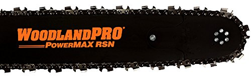 """WoodlandPRO 24"""" PowerMAX Chainsaw Bar and Chain Combo for Stihl (84 Drive Links"""
