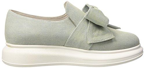 Britny Jeffrey Blue Campbell Blu Sneaker Basso Suede a Collo Donna Light vrv5dqHw
