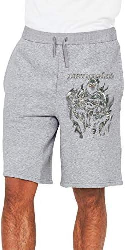 ディスターブド Disturbed ハーフパンツ ショートパンツ フィットネス スポーツ ランニング 吸汗速乾 ズボン カジュアル メンズ