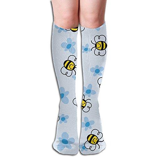Long Stocking Bee Women's Over Knee Thigh Winter