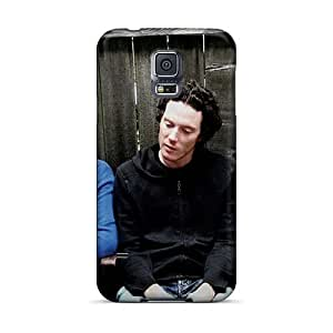 NataliaKrause Samsung Galaxy S5 Durable Hard Phone Covers Unique Design Nice Rise Against Image [YHM13490PTin]