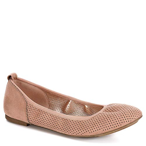 XAPPEAL Womens Clair Slip On Ballet Flat Shoes, Blush, for sale  Delivered anywhere in USA