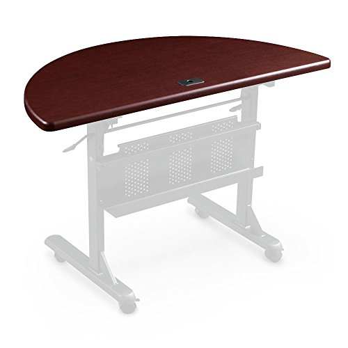 Balt Flipper 4824 Conference / Training Table Round - Mahogany by Generic