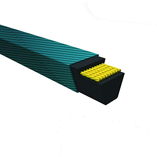 Rubber 1 Band 233 Length D/&D PowerDrive 35X7 Scoop A Second Replacement Belt 233 Length