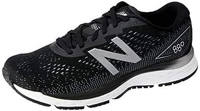 New Balance Men's 880 V9 Running Shoe, Black, 7 US (Wide)