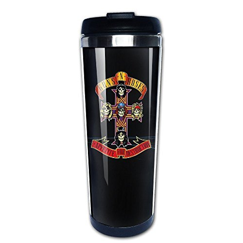 APPETITE CROSS RAGLAN Gun N Roses 304+ABS Stainless Steel Travel Tumbler Coffee Mug (400ml) (Milwaukee Brewers Bucket)