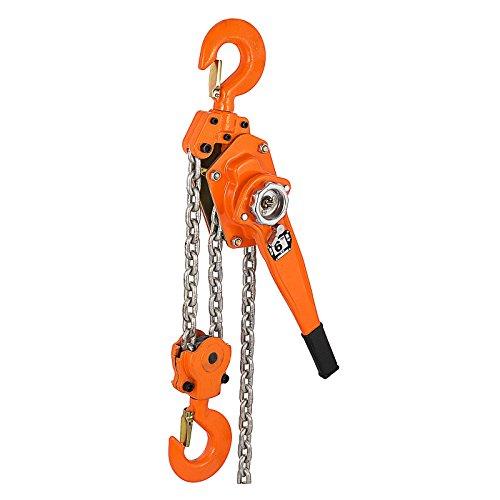 Mophorn 6 Ton Lever Block Chain Hoist 1.5M 5ft Chain Hoist Alloy Steel G80 Chain Ratchet Lever Hoist with Hook (6 Ton 5 Ft)