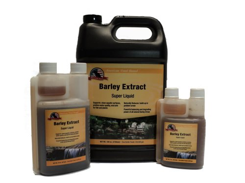 (Liquid Barley Straw Extract 8oz Pond Water Treatment)