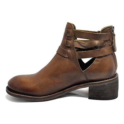 Gee Wawa Chaussures Femmes Brandi Bottes Marron Foncé