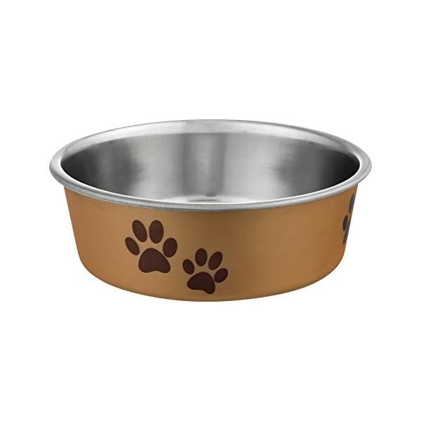Loving Pets Metallic Bella Bowl Dog Bowl