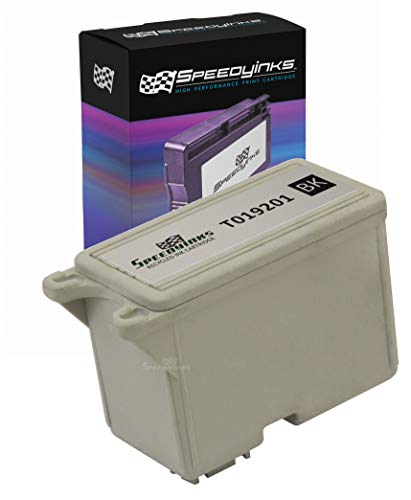 Speedy Inks Remanufactured Ink Cartridge Replacement for Epson T019201 (Black)]()