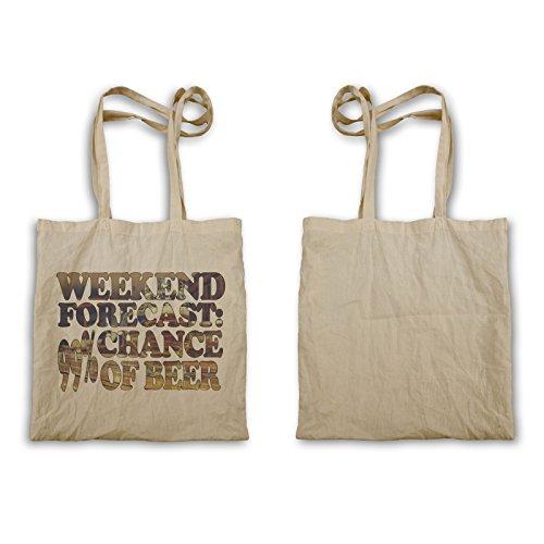 Wochenendvorhersage Chance Beer Tragetasche u463r